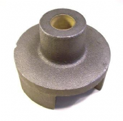 "Cast MI Outer Block to suit 5"" 10swg round tube / 1"" steel shaft"